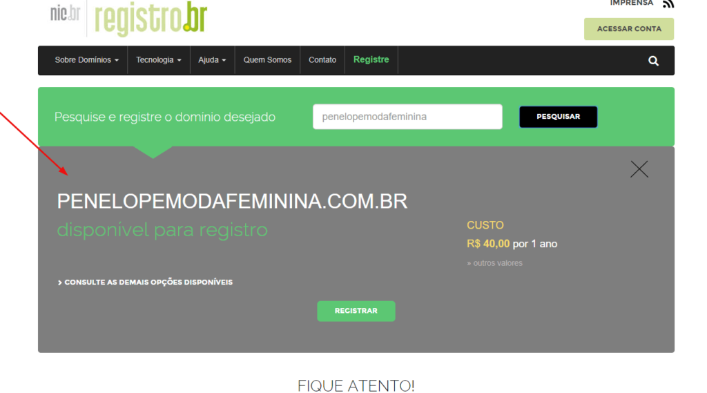 registrar-dominio-online